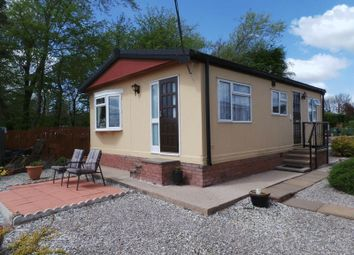 Thumbnail 2 bed mobile/park home for sale in Cherrytree Park, Empire Way, Gretna