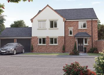 Thumbnail 4 bed detached house for sale in 'the Lindisfarne', The Croft, Top Road, Calow, Chesterfield