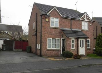 Thumbnail 2 bed semi-detached house to rent in Weeping Elm Way, Scunthorpe