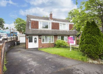 Thumbnail 3 bed semi-detached house for sale in Japonica Close, Newport