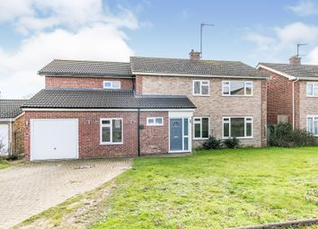 Thumbnail 5 bed detached house for sale in Wardley Close, Ipswich
