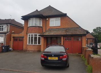 Thumbnail 3 bed detached house to rent in Woodlands Road, Sparkhill, Birmingham