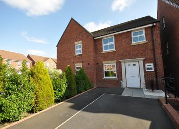 Thumbnail 3 bed semi-detached house for sale in Parish Gardens, Leyland, Preston, Lancashire