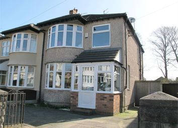 Thumbnail 3 bed semi-detached house for sale in Chalfont Road, Allerton, Liverpool, Merseyside