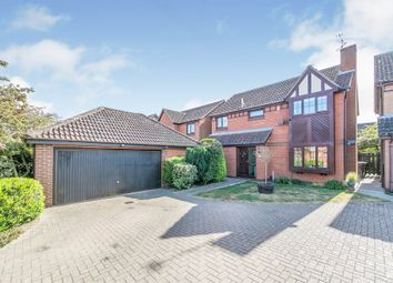 Thumbnail 4 bed detached house for sale in Wincanton Close, Ipswich