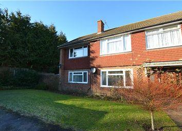 Thumbnail 2 bed maisonette for sale in Meadway, Halstead, Sevenoaks, Kent