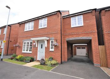 Thumbnail 4 bed detached house for sale in Coronet Drive, Ibstock, Coalville