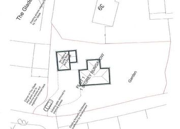 Thumbnail Land for sale in The Glade, School Lane, Gwaelod-Y-Garth