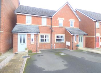 Thumbnail 3 bed semi-detached house for sale in Tramside Way, Carlisle