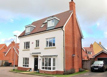 Thumbnail 5 bed detached house to rent in Priors Green, Little Canfield, Essex