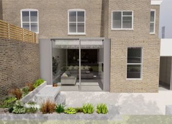 Thumbnail 3 bed flat for sale in Warwick Gardens, Earls Court