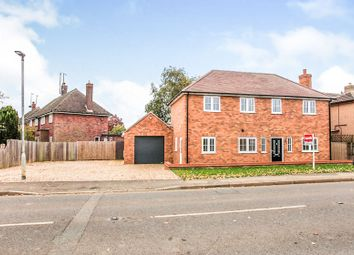 Thumbnail 3 bed detached house for sale in Glinton Road, Helpston, Peterborough