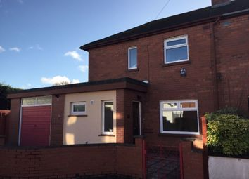 Thumbnail 3 bed semi-detached house to rent in Chesham Gardens, Ravenhill, Belfast