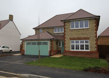 Thumbnail 4 bed detached house to rent in Morgans Road, Calne