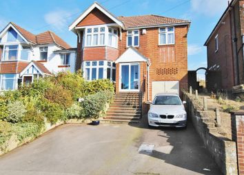 Thumbnail 4 bed detached house for sale in Chessel Avenue, Southampton