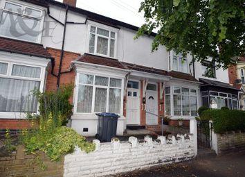 Thumbnail 3 bed terraced house for sale in Queens Road, Erdington, Birmingham