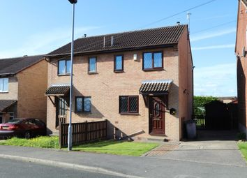 Thumbnail 2 bed semi-detached house for sale in Saxton Close, Elsecar, Barnsley