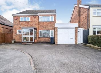Thumbnail 3 bed detached house for sale in Fox Hollies Road, Hall Green, Birmingham, West Midlands
