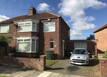 Thumbnail 3 bedroom semi-detached house for sale in 39 Easby Avenue, Middlesbrough, Cleveland