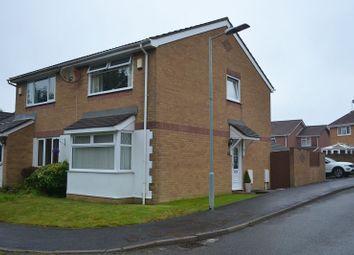 Thumbnail 2 bed semi-detached house for sale in Pen Y Garn, Bonymaen, Swansea