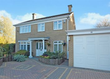 Thumbnail 4 bed detached house for sale in Hertford Court, Meadowfields, Northampton