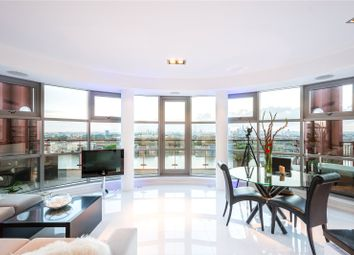 Thumbnail 2 bed flat for sale in Seacon Tower, 5 Hutchings Street, London