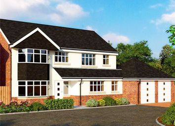 Thumbnail 4 bed detached house for sale in Bridge View Close, Longton, Preston