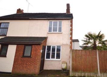 Thumbnail 2 bed semi-detached house for sale in 3 Cross Street, Castle Gresley, Swadlincote, Derbyshire