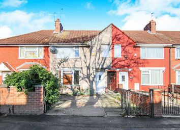Thumbnail 3 bed terraced house for sale in Teynham Crescent, Liverpool