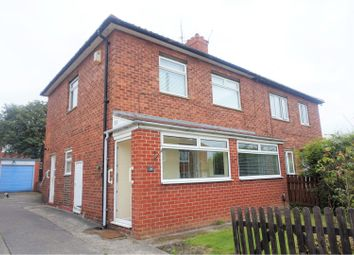 Thumbnail 3 bed semi-detached house for sale in Felton Drive, Newcastle Upon Tyne