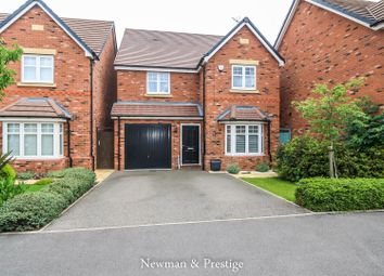 Thumbnail 4 bed detached house for sale in Bellerose Close, Tile Hill, Coventry