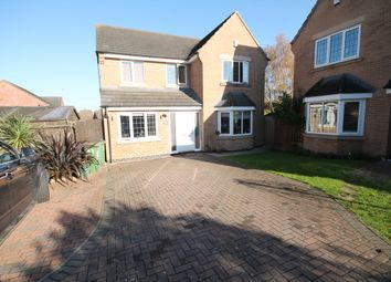 Thumbnail 4 bed detached house to rent in Cork Lane, Glen Parva, Leicester