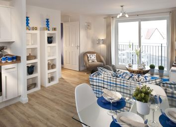"Thumbnail 2 bed flat for sale in ""Hadleigh"" at Kergilliack Road, Falmouth"