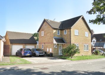 Thumbnail 3 bed detached house for sale in Barncroft Close, Highwoods, Colchester