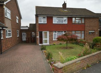 Thumbnail 3 bed semi-detached house for sale in Beechings Way, Gillingham, Kent