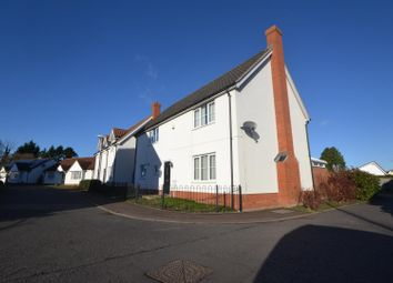 Thumbnail 4 bed detached house for sale in Long Stratton, Norwich
