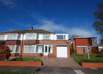 Thumbnail 5 bedroom semi-detached house for sale in Montagu Avenue, Gosforth, Newcastle Upon Tyne