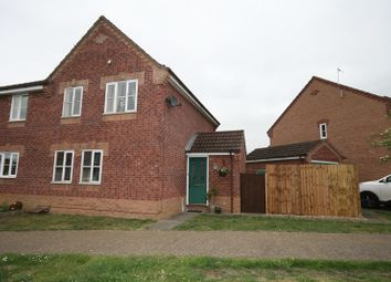 Thumbnail 3 bedroom semi-detached house for sale in Honeysuckle Way, Attleborough
