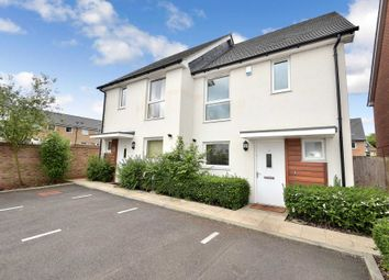 Thumbnail 3 bed semi-detached house for sale in Grove Corner, Giffard Park, Milton Keynes