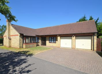 Thumbnail 3 bed detached bungalow for sale in The Paddock, Huntingdon, Cambridgeshire