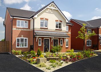 Thumbnail 1 bed mews house for sale in Barrington Park, Alsager, Cheshire