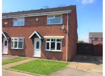 Thumbnail 2 bed end terrace house for sale in Byland Court, Hull