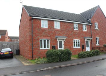 Thumbnail 3 bed semi-detached house to rent in Thornborough Way, Hamilton, Leicester