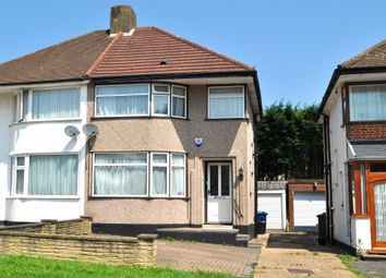 Thumbnail 3 bed semi-detached house to rent in Curzon Avenue, Stanmore