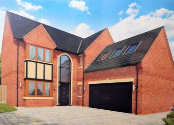 Thumbnail 4 bedroom detached house for sale in Hawthorn Bank, Harwood, Bolton