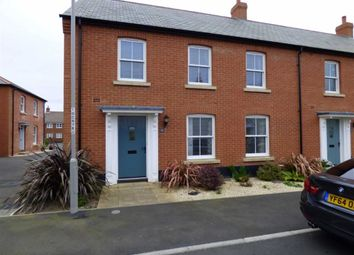 Thumbnail 3 bed end terrace house for sale in Courage Way, Chickerell, Weymouth
