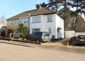 Thumbnail 3 bed semi-detached house for sale in Clos Fach, Cardiff