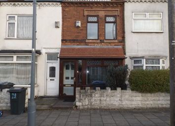 Thumbnail 3 bedroom terraced house for sale in Asquith Road, Birmingham, West Midlands