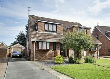 Thumbnail 3 bed semi-detached house for sale in Fairfax Drive, Hedon, Hull