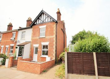 Thumbnail 3 bed end terrace house to rent in Wickham Road, Colchester
